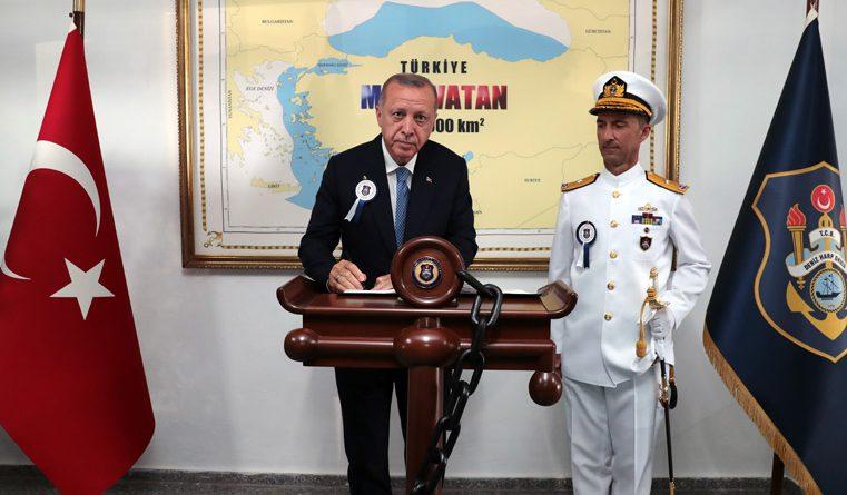 Ο Ερντογάν διεκδικεί το μισό Αιγαίο;